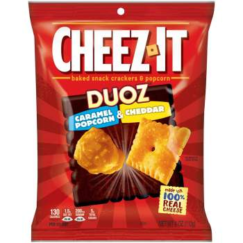 Cheez-It Duoz Caramel Popcorn & Cheddar 113g