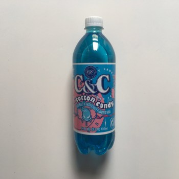 C&C Soda Cotton Candy bottle 710ml