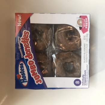 Hostess Glazed Blueberry Donettes (360g) From Auntie ammies American Candy Shop