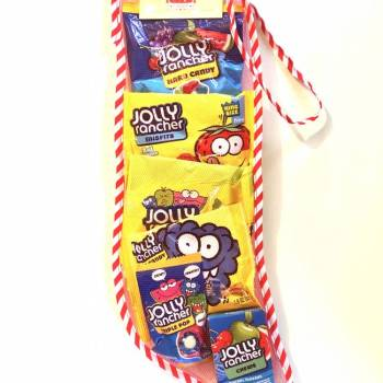 Jolly Rancher Christmas Stocking From Auntie ammies Candy shop