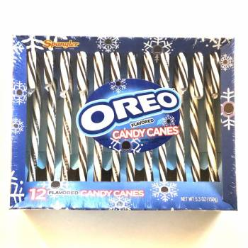 Oreo flavoured Candy Canes (150g) From Auntie Ammies Candy Store