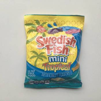 Swedish Fish Mini Tropical (141g) From Auntie Ammie Candy store