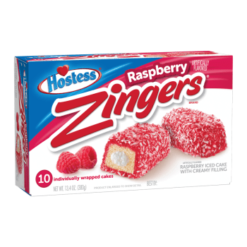 Hostess Zingers Raspberry 10 pack