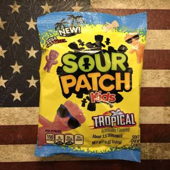 Sour Patch Kids Tropical (141g) American sweets Auntie Ammie's Candy Shop