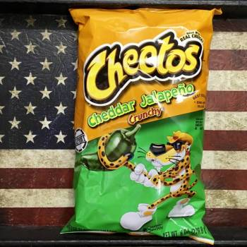 Cheetos Crunchy Jalapeno 227g American foods Auntie Ammie's Candy Shop