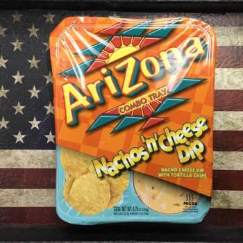 Arizona Combo Tray Nachos 'n' Cheese Dip Check out this great new product from Arizona. Nachos Cheese Dip with Tortilla Chips American groceries Auntie Ammie's Candy Shop