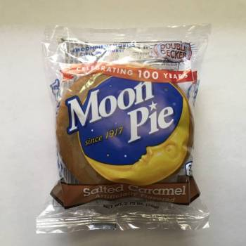 Salted Caramel Moon Pie From Auntie Ammies Candy Shop