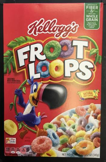 Fruit Loops fruit loop cereal 345g From Auntie Ammies Candy Shop