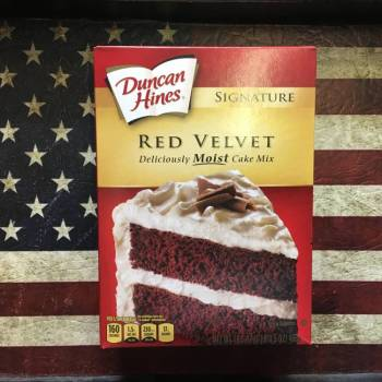 Duncan Hines Signature Red Velvet Cake Mix 468g From Auntie Ammies Candy Shop