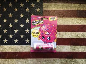 Shopkins D'Lish Jelly Donut Lip Balm From Auntie Ammies Candy Shop