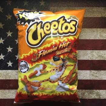 Cheetos Crunchy Flamin' Hot (99g) from Auntie Ammies Candy Shop