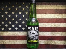 Jones Green apple Flavoured soda (355ml) From Auntie ammies Candy Shop