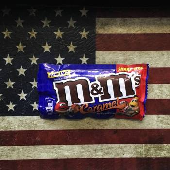 M&Ms Caramel Share Size 81g From Auntie Ammies Candy Shop