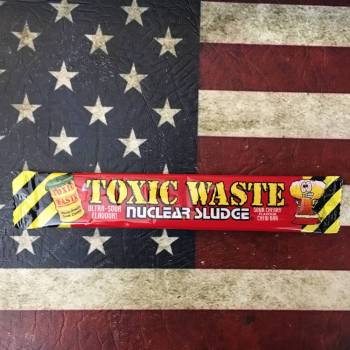 Toxic Waste Nuclear Sludge Sour Cherry 20g From Auntie Ammies candy Shop