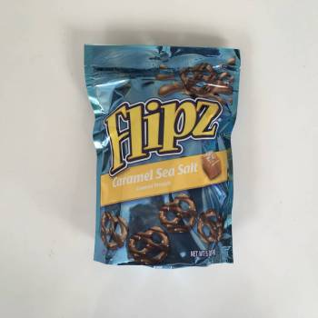 Flipz Caramel Sea Salt Pretzels From Auntie Ammies Candy Shop