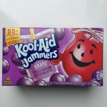 Kool Aid Jammers Cherry Grape American candy UK