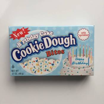 Birthday Cake cookie dough bites from Auntie Ammie's Candy Shop