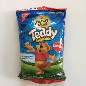 Honey Maid Cinnamon Teddy Grahams 85g American sweets Auntie Ammie's Candy Shop