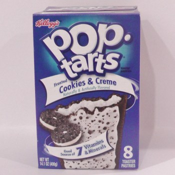 cookies and cream pop tarts American snacks UK from Auntie Ammie's Candy Shop