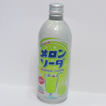 Japanese Melon Soda from Auntie Ammie's Japanese Candy Shop UK