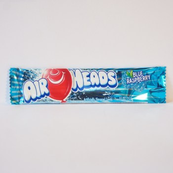 blue rasberry air heads chew bar American sweets from Auntie Ammie's Candy Shop
