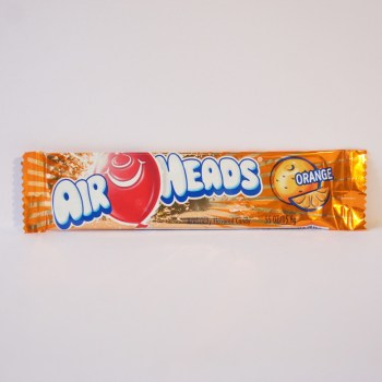 orange airhead chew bar American sweets from Auntie Ammie's Candy Shop