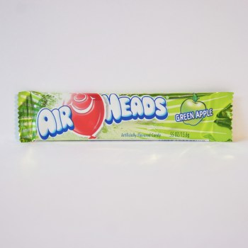 sour apple airhead chew bar American sweets from Auntie Ammie's Candy Shop