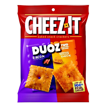 Cheez it - Duoz Bacon & Cheddar Cheese from Auntie ammies American Candy Shop