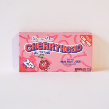 cherryhead hard candy American sweets from Auntie Ammie's Candy Shop