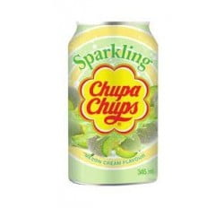 Chupa Chups Sparkling Soda Melon Cream 345ml