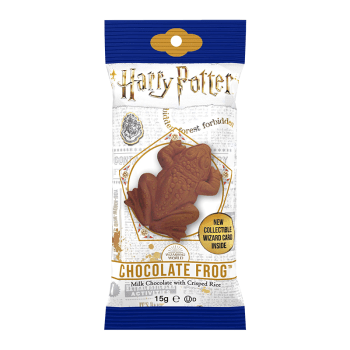 Harry Potter Chocolate Frog with collectable wizard card 0.55oz (15g) from Auntie Ammies American Candy Shop