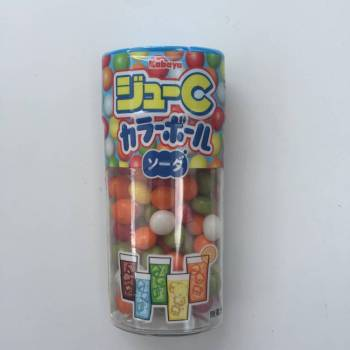 Jyu-C Colour Ball Soda Drops Japanese sweets UK