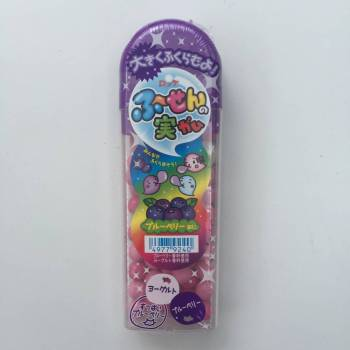 Lotte Blueberry flavoured Bubble Gum Japanese sweets UK