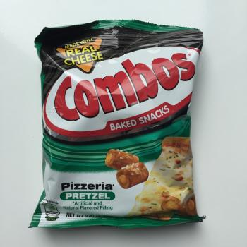 Pizzeria Pretzel Combos American snacks UK