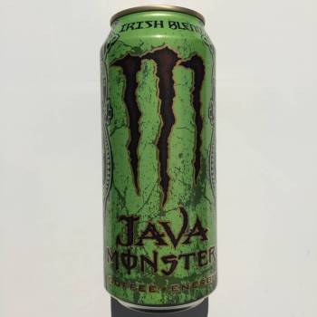 Monster Java Irish blend coffee + Energy American soda
