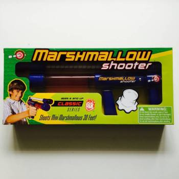 Marshmallow shooter from Auntie Ammie's American Candy Shop UK