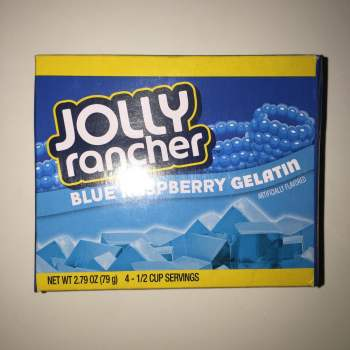 Jolly Rancher Blue Raspberry Gelatin American sweets online
