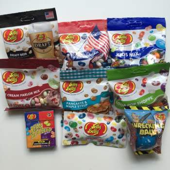 Large Jelly Belly American sweet hamper from Auntie Ammie's Candy Shop