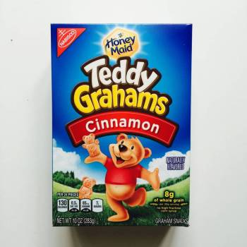 Teddy Graham cinnamon from Auntie Ammie's American Candy Shop UK