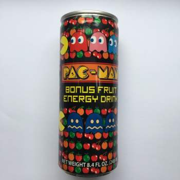 Pac Man Bonus Fruit Energy Drink
