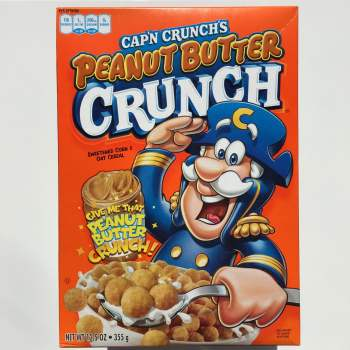 Cap'n Crunch's Peanut butter crunch American breakfast UK