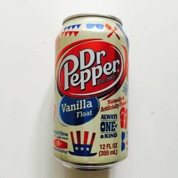 Dr. Pepper vanilla Float American soda from Auntie Ammie's American Candy store UK