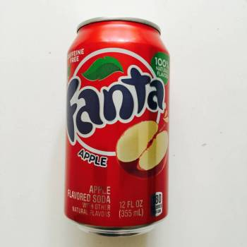 Fanta Apple soda from Auntie Ammie's American Candy store UK