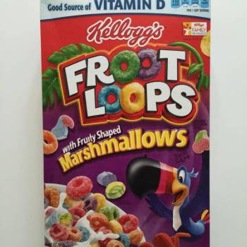 Fruit Loops fruit loop cereal With MarshMallows from Auntie Ammie's American Candy Shop UK