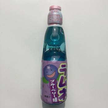 Hatakosen Blueberry-flavoured lemonade Japanese drink