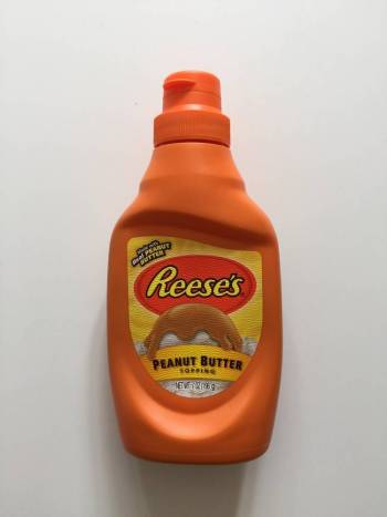 Reeses peanut butter topping from Auntie Ammie's American Candy Shop UK