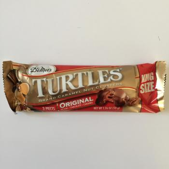 Turtles King Size Bar American snacks
