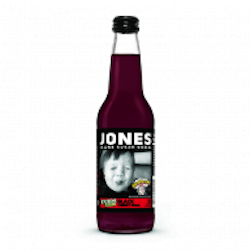 Jones Soda - Warheads Black Cherry 12fl.oz (355ml)