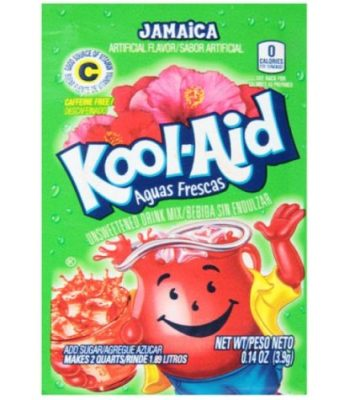 Kool Aid Jamaica Drink Mix Sachet - 0.14oz (3.9g)