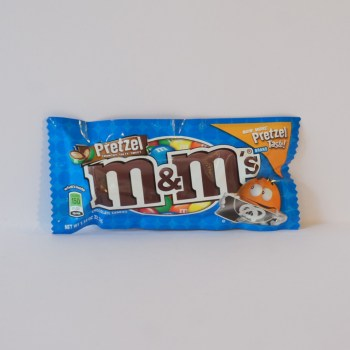 pretzel flavoured m&ms American sweets from Auntie Ammie's Candy Shop